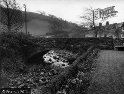 Ramsgill, Bridge From Café Gardens c.1932