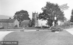 Ramsgill, St Mary's Church And Green 1950