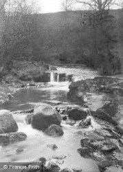 Ramsgill, The Beck c.1932