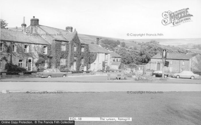 Photo of Ramsgill, The Green c.1965