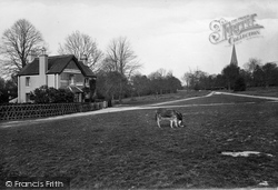 Ranmore Common, Post Office And St Barnabas Church 1922