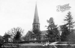 Ranmore Common, St Barnabas Church 1906