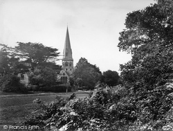 Ranmore Common, St Barnabas Church 1932