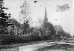 Ranmore Common, St Barnabas Church And School 1906