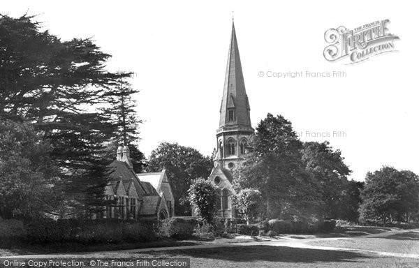 Ranmore Common, Church and Schools 1932