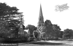 Ranmore Common, St Barnabas Church And Schools 1932