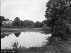 Ranmore Common, The Pond 1932