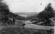 Ranmore Common, view from Common 1906