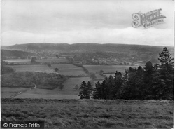 Ranmore Common, View From The Common 1927
