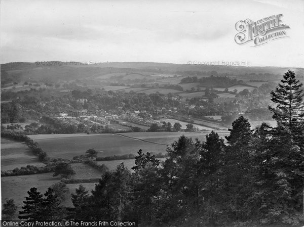 Photo of Ranmore Common, View From The Common Looking South 1927