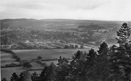 Ranmore Common, view from the Common looking south 1927