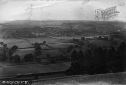 Ranmore Common, View From The Hill 1909