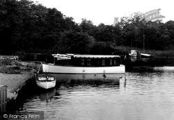 Alongside The Staithe c.1930, Ranworth