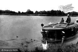 Feeding Broadland Ducks c.1930, Ranworth