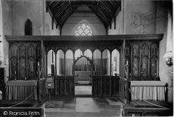 Screen In The Church Of St Helen c.1933, Ranworth