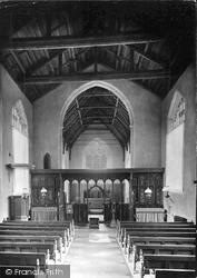 St Helen's Church Interior c.1933, Ranworth