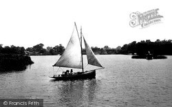 The Broad c.1930, Ranworth