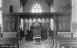 The Church Rood Screen  1934, Ranworth