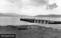 The Pier c.1960, Rathmullan