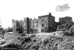 Ravenglass, East Front, Muncaster Castle c.1955