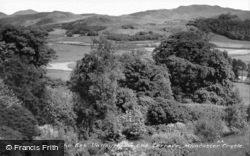 Esk Valley From The Terrace, Muncaster Valley c.1950, Ravenglass