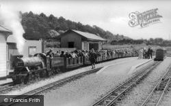 Ravenglass And Eskdale Miniature Railway c.1955, Ravenglass