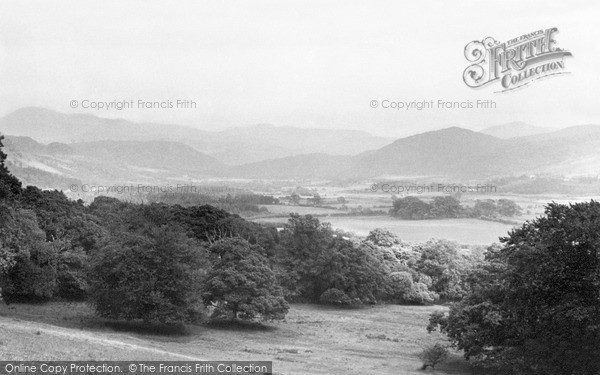 Ravenglass, the Esk Valley from the Terrace c1955.  (Neg. R356034)  � Copyright The Francis Frith Collection 2008. http://www.francisfrith.com