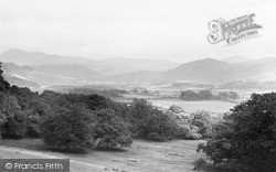 Ravenglass, The Esk Valley From The Terrace c.1955