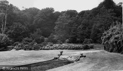 Ravenglass, The Garden, Muncaster Castle c.1955
