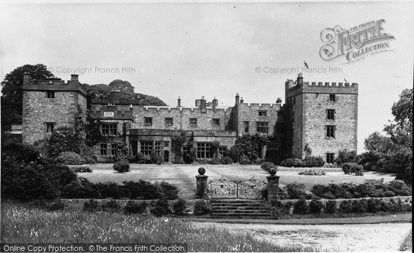 Ravenglass, west front, Muncaster Castle c1955.  (Neg. R356024)  � Copyright The Francis Frith Collection 2008. http://www.francisfrith.com