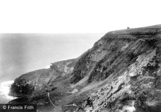 Ravenscar, the Cliffs 1901