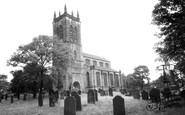 Rawmarsh, Parish Church c1965