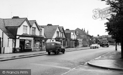 Rayleigh, Eastwood Road c.1960