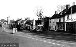 Rayleigh, High Street c.1955