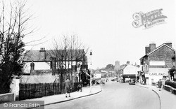 Rayleigh, High Street, Looking East c.1950