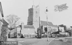 Rayleigh, Holy Trinity Parish Church c.1955
