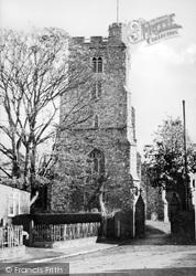 Rayleigh, The Church c.1955