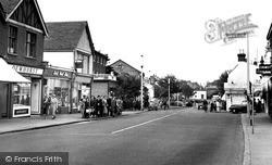 Rayleigh, The High Street 1957