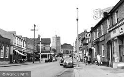 Rayleigh, The High Street c.1957