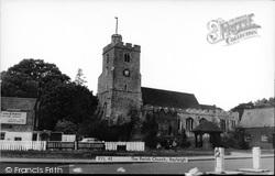 Rayleigh, The Parish Church c.1960