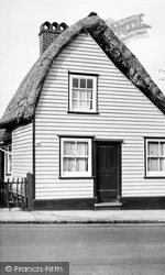 Rayleigh, The Thatched Cottage c.1950