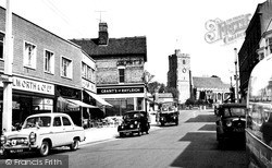 Rayleigh, Town Centre 1957