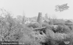 Rayleigh, View From Rayleigh Mount c.1955