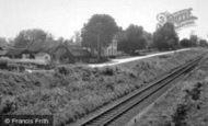 Rayne, New Road c1955
