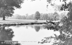 Raynes Park, Cannon Hill Common c.1955