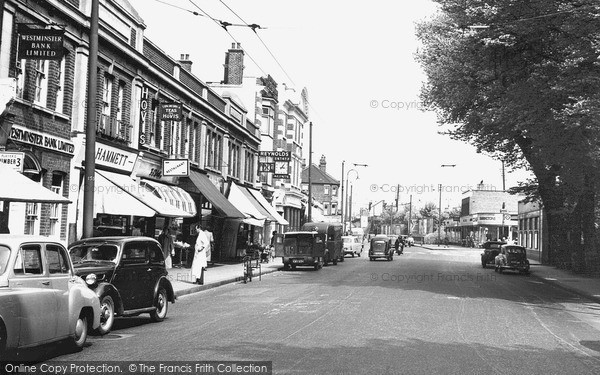 photo of raynes park coombe lane c1955 francis frith