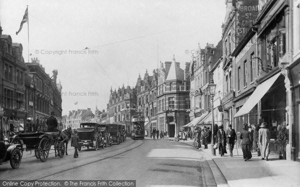 Reading, Broad Street 1913