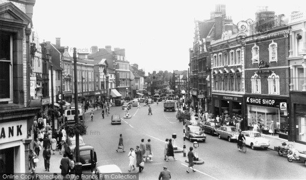 Reading, Broad Street c1965