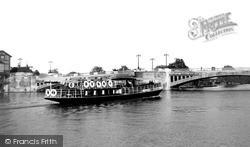 Caversham Bridge c.1955, Reading