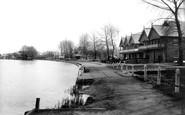 Reading, East's Boathouse 1896